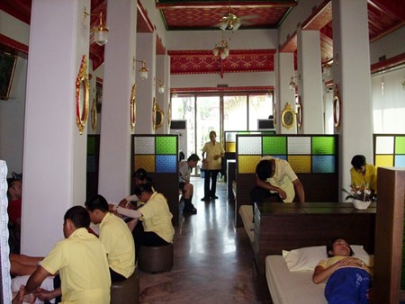 Massage ở Wat Po