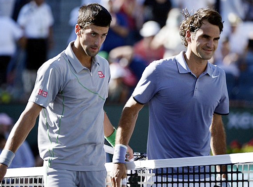 Novak Djokovic dang quang Indian Wells