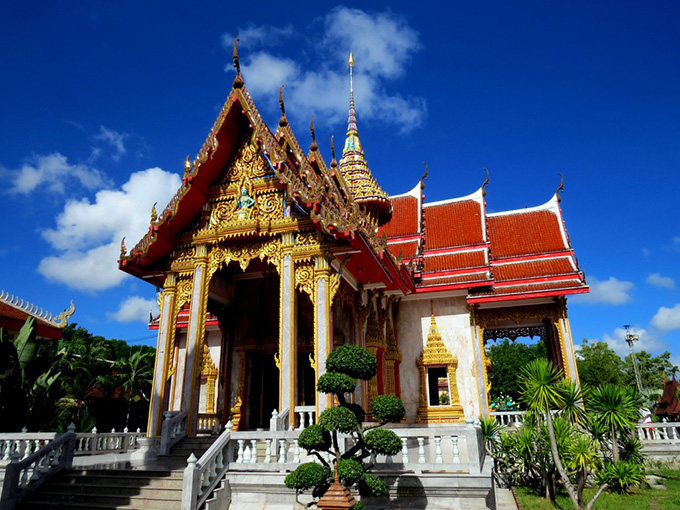 tour thai lan Chùa Chalong