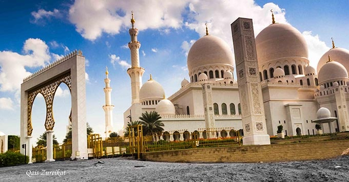 tour du bai Sheikh Zayed Mosque