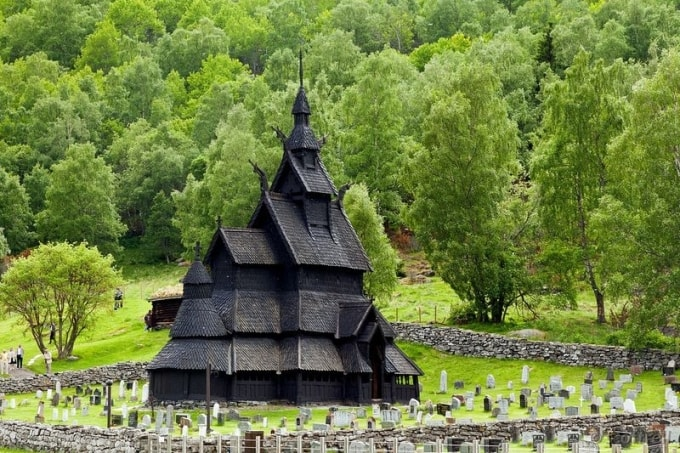 The Borgund Stave Church